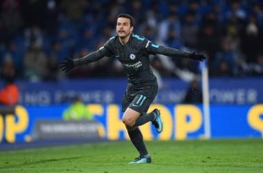 Pedro esulta per la rete della vittoria / Chelsea Twitter