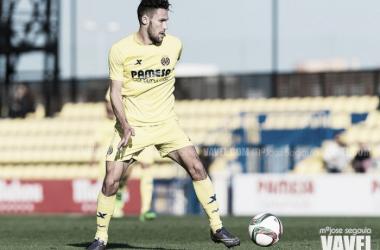 Pedraza cuando jugaba en el Villarreal. / Foto: Mª José Segovia, VAVEL