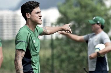 Pedro não joga há oito meses (Foto: Mailson Santana/FFC)