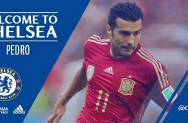 Chelsea dá chapéu no Manchester United e anuncia atacante Pedro