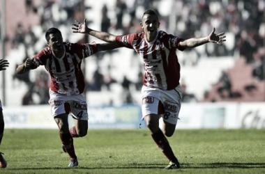 Endrizzi fue la figura en el último triunfo de Instituto, donde marcó su primer gol, y volverá a ser titular ante Sportivo Belgrano. (Foto: Pedro Castillo - Mundo D)