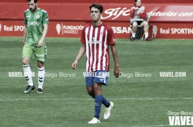"""Pedro Díaz: """"Solo pensamos en la victoria"""" // Imagen: Diego Blanco - VAVEL"""