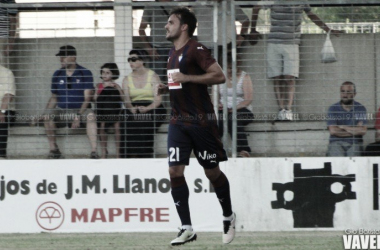 Pedro León es el fichaje estrella del Eibar (Foto: Gio Batista - VAVEL)