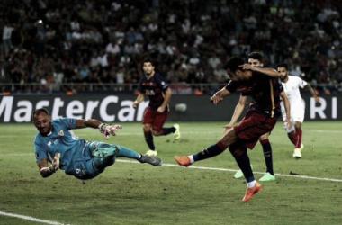 Barcelona bate Sevilla na prorrogação em jogo de nove gols e conquista Supercopa da Uefa