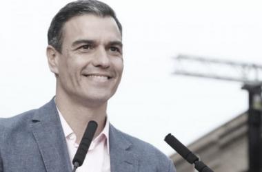 Pedro Sánchez, presidente del Gobierno en funciones y líder del PSOE // Fuente: https://www.psoe.es