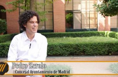 Pedro Zerolo, concejal del Ayuntamiento de Madrid. (Captura de vídeo de entrevista | Migrarescultura.es.