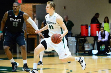 Despite another double-double performance from Brian Pegg (15 points, 13 rebounds), the Stetson Hatters weren't able to knock off The Citadel Bulldogs on Tuesday night, falling 94 - 93. (Source: Stetson Athletics)
