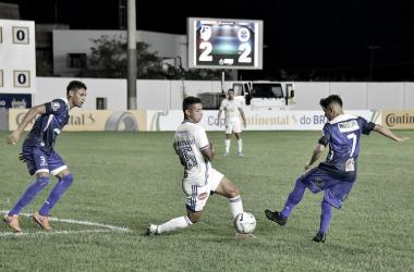 Último encontro entre Cruzeiro e São Raimundo ocorreu em fevereiro de 2020 (Foto: William Roth)