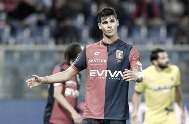 Pietro Pellegri con la maglia del Genoa / Genoa Twitter