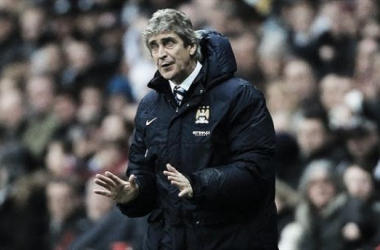 Manuel Pellegrini doesn't want to splash the cash this January - nor does he want to lose players