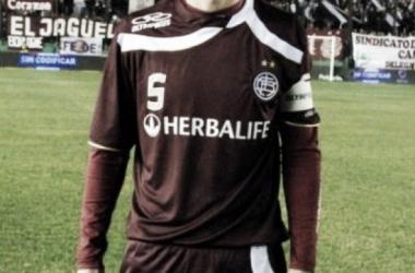Agustín Pelletieri en su etapa como jugador de Lanús (Foto: Web).