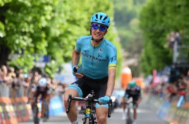 Pello Bilbao vince a L'Aquila Fonte foto: Profilo Twitter Giro d'Italia