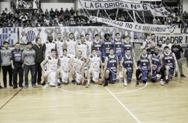 El equipo marplatense en su presentación en socidad. Foto: La Liga Contenidos