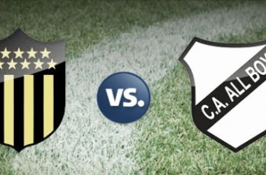 Peñarol vs All Boys en vivo y en directo online. Fotomontaje: Redpagos