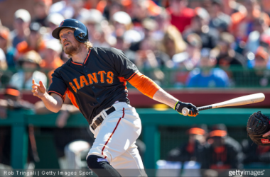 Hunter Pence will miss six to eight weeks.
