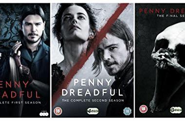 Afiche de las tres temporadas de Penny Dreadful. Fotografía de Amazon UK