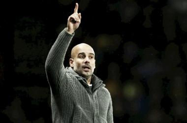 Segundo Guardiola, posicionamento de Gabriel Jesus foi fundamental para boa atuação (Reprodução /Manchester City)