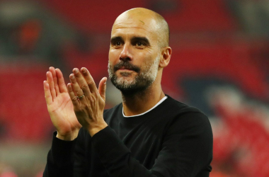 Pep Guardiola delighted by his sides performance in Ukraine