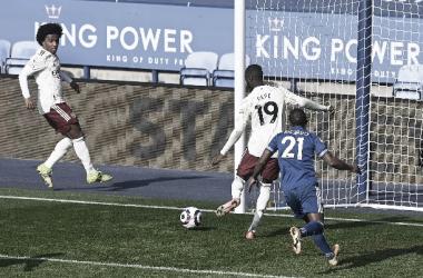 Pepe marcando el 1-3 / FOTO: Arsenal