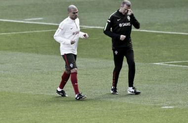 Pepe ainda não recuperou de uma pequena lesão.