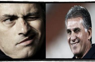 Queiroz e Pepe desentenderam-se depois da saída do técnico da selecção lusa (Foto: Reuters/José Manuel Ribeiro)