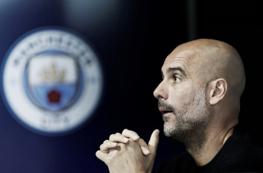 Pep Guardiola defendió a su club | Foto: UEFA