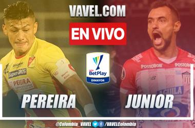 Resumen: Pereira 1-1 Junior en la fecha 9 por la Liga BetPlay 2021-II