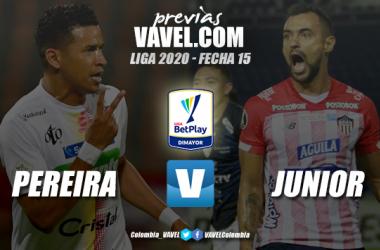 Previa Deportivo Pereira vs. Junior de Barranquilla: por mantener viva la ilusión de clasificar