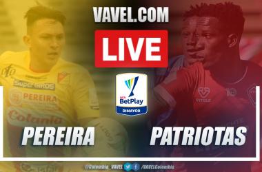 Resumen Pereira vs Patriotas (1-2) en la fecha 6 por Liga BetPlay 2021-I