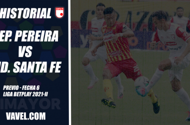Historial Deportivo Pereira vs. Independiente Santa Fe: ventaja 'matecaña' en el eje cafetero