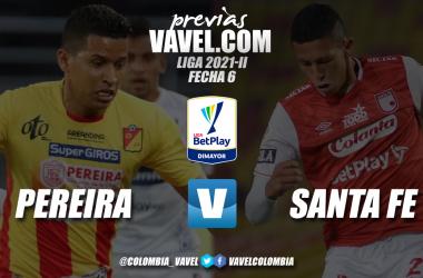 Previa Deportivo Pereira vs Santa Fe: dos equipos con la necesidad de sumar