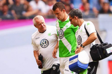 Perisic picked up the injury in a 3-0 defeat to Bayern Munich (Picture: vfl-wolfsburg.de)