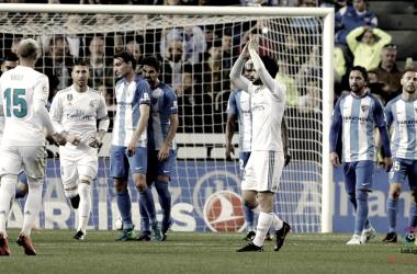 Isco pidiendo disculpas a La Rosaleda | La Liga