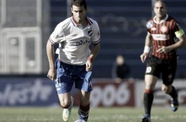 Foto: cambiodefrente.com / Gastón Pereiro, el jugador del partido
