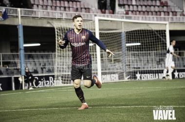 Carles Pérez celebrando un gol | Foto de Noelia Déniz, VAVEL