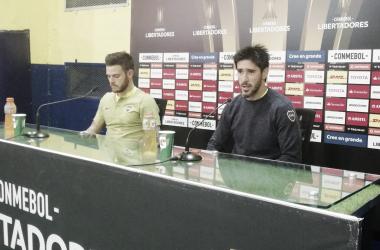 Los volantes xeneizes ya piensan en el partido del domingo ante Gimnasia | Foto: Boca Juniors