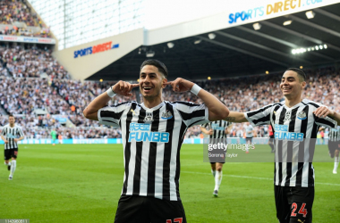 Newcastle United 3-1 Southampton: Perez hat-trick secures Magpies' safety