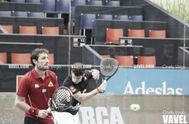 Fotos e imágenes del partido Grabiel-Moyano 6-4 y 6-0 Moreno-Alonso