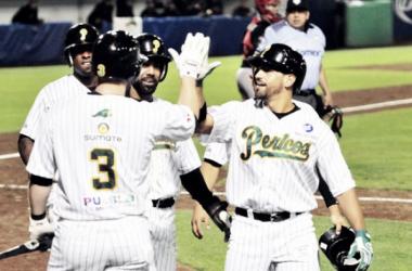 Poder ofensivo de Pericos. (Foto: Liga Mexicana de Béisbol)