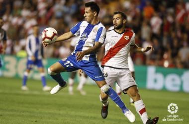 Espanyol - Rayo de la primera vuelta. Fotografía: La Liga