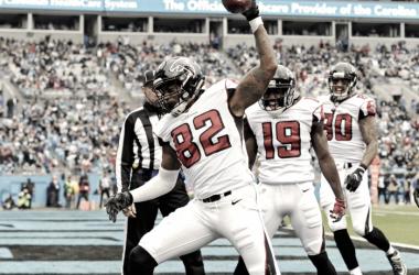 Matt Ryan and Atlanta Falcons complete sweep of Carolina Panthers