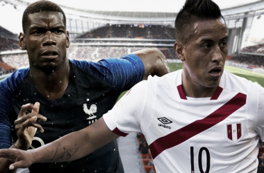 Paul Pogba y Christian Cueva, estandartes del Francia - Perú | Foto: FIFA