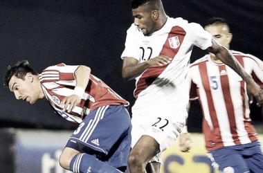 El último encuentro entre 'Incas' y 'Guaraníes' fue por el tercer y cuarto puesto de la Copa América 2015. (FOTO: diariocorreo.pe)
