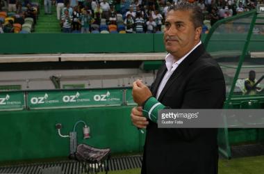 José Peseiro diz adeus a Alvalade. GettyImages