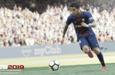 Coutinho será el representante de la portada. | Foto: Konami