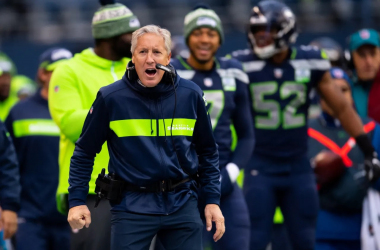 Pete Carroll supo cambiar a tiempo y guía a Seattle a playoff. Foto: Rod Mar/Seattle Seahawks.