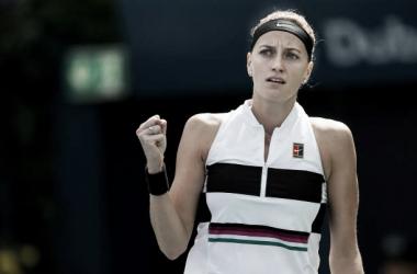 Kvitova recupera sensaciones en Dubai