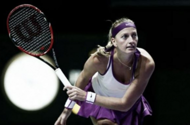 Petra Kvitova was impressive against her Czech Fed Cup teammate (pic from WTA)