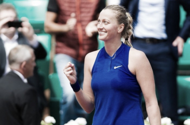 Petra Kvitova celebrates her win at the French Open in Paris/Photo courtesy: Jimmie48 Photography