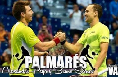 Alexander Peya y Bruno Soares: palmarés